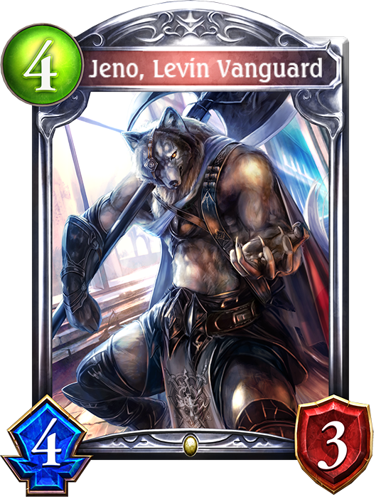Card Jeno Levin Vanguard