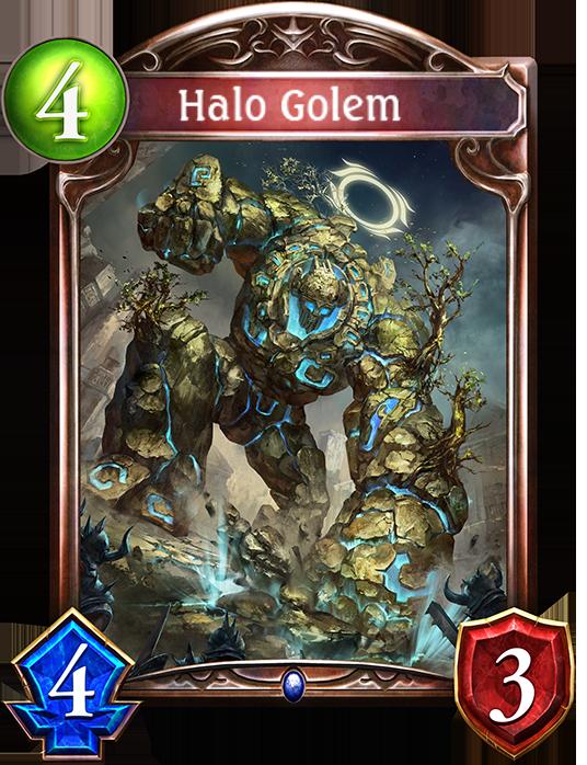 Card: Halo Golem